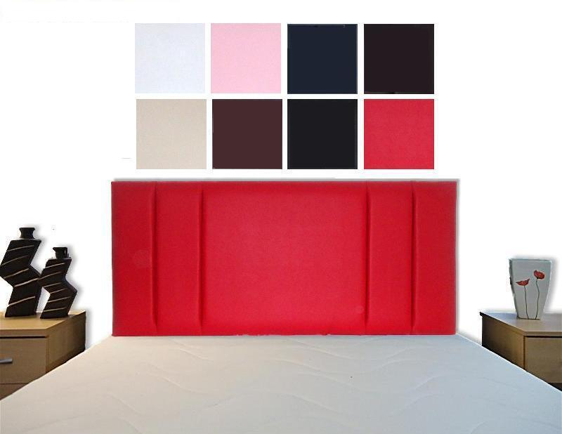 Mili bed headboard single double king size super king - All in one double bed ...