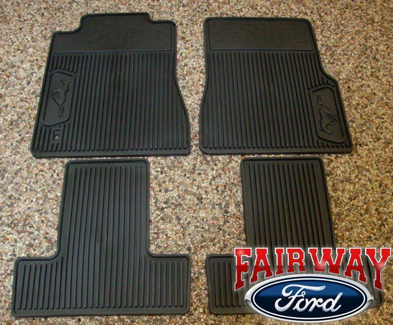 05 06 07 08 09 mustang oem ford black rubber all weather