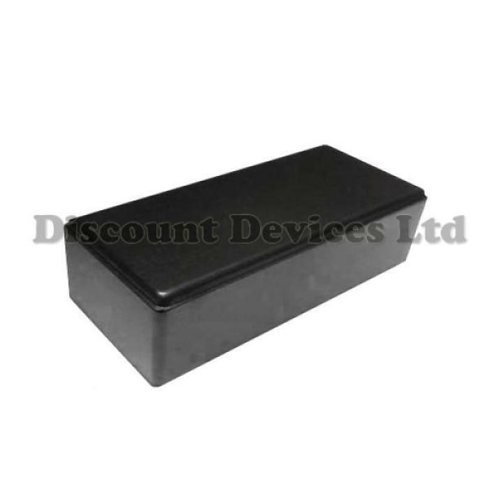 Black Plastic Electrical Enclosures : Black plastic enclosure small project box for electronic