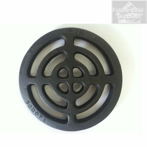 Quot round cast iron gully grid grate heavy duty drain