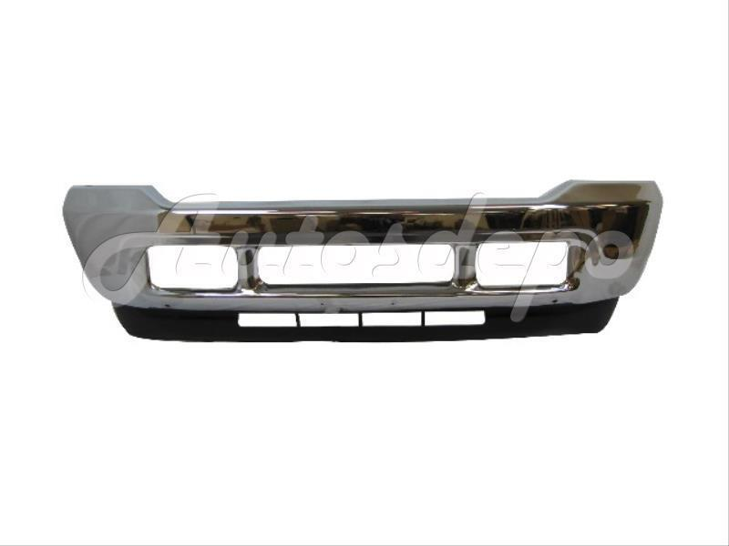 2001 Ford F350 >> 01-04 03 02 FORD F250 F350 SUPER DUTY FRONT BUMPER CHROME WITH VALANCE 2PCS NEW | eBay