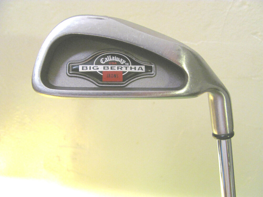 callaway big bertha 4 iron memphis 10 shaft original grip ebay. Black Bedroom Furniture Sets. Home Design Ideas