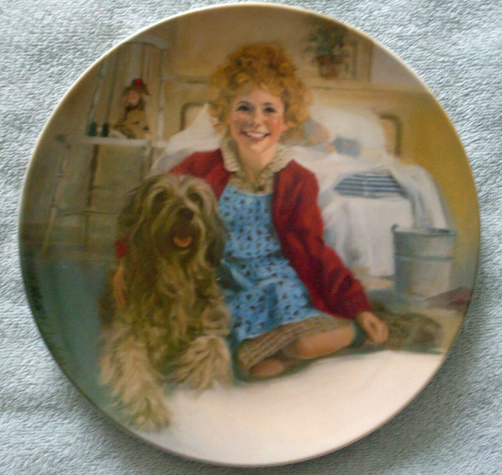 """By Chambers: Edwin M Knowles China """"Annie And Sandy"""" By William"""