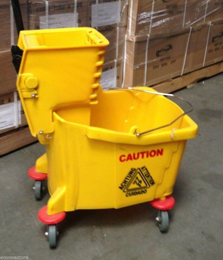 Commercial Restaurant Hall Floor Cleaning Mop Trolley