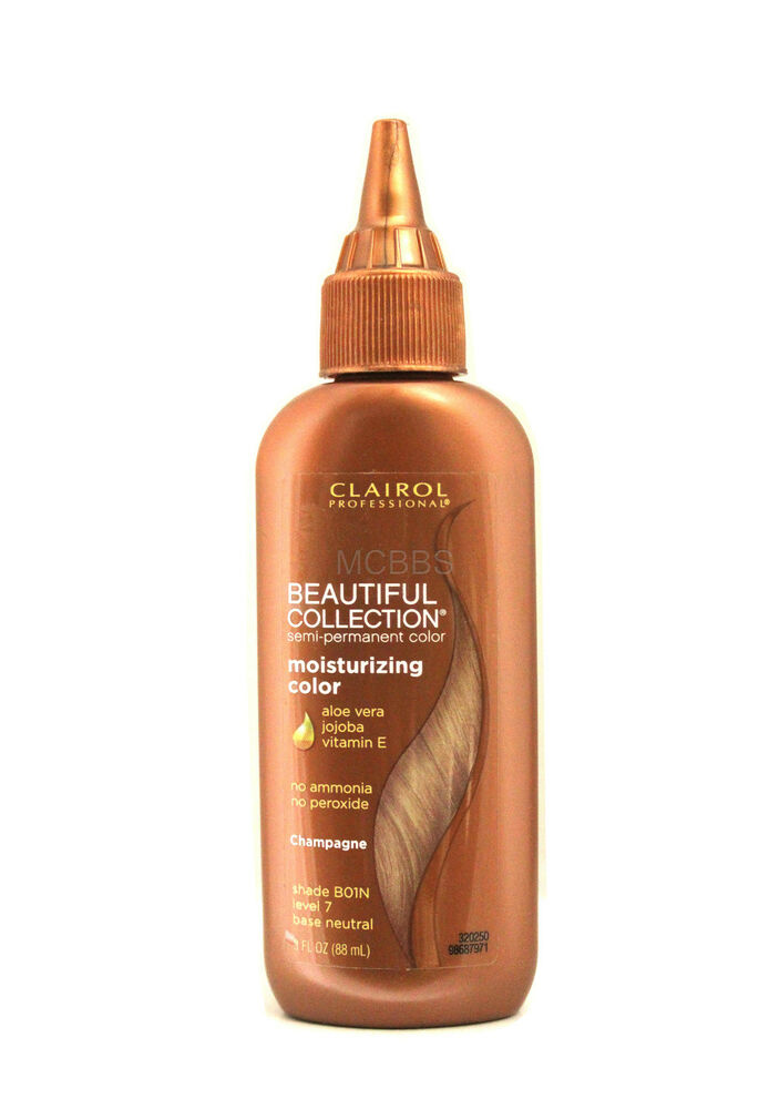 Clairol Beautiful Collection Semi Permanent Color 3 Oz