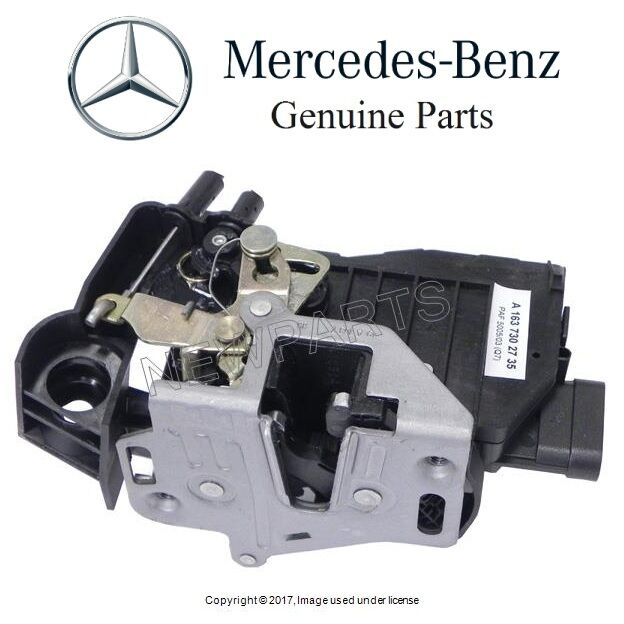 Mercedes w163 ml320 ml500 genuine rear left driver door for Mercedes benz ml500 parts