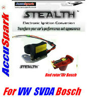 VW,Beetle,Camper,Stealth electronic ignition for standard Distributor/Red Rotor