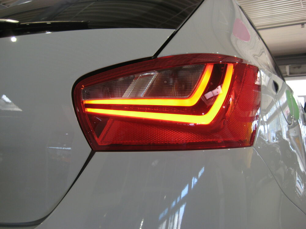seat ibiza 6j 5 door original radio led rear lights. Black Bedroom Furniture Sets. Home Design Ideas
