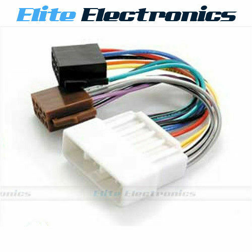 iso wiring harness loom for honda accord civic crv integra legend odyssey ebay