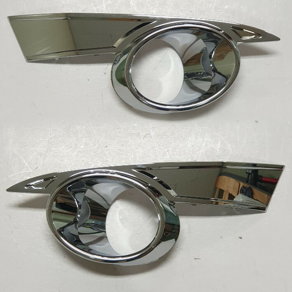 2012 Chevy Captiva Accessories: Fog Lights Lamp Chrome Point Left Right Side 2P For 2011