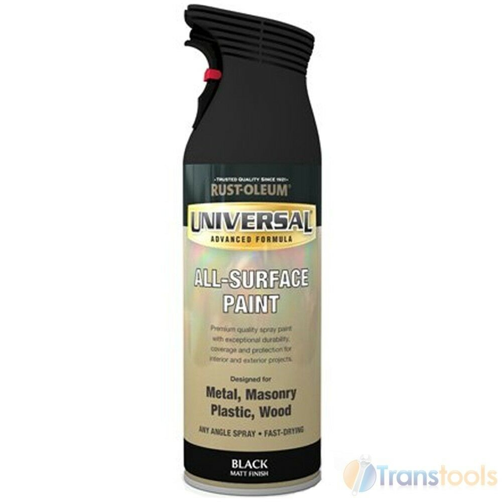 Universal All Surface Paint Gloss Black