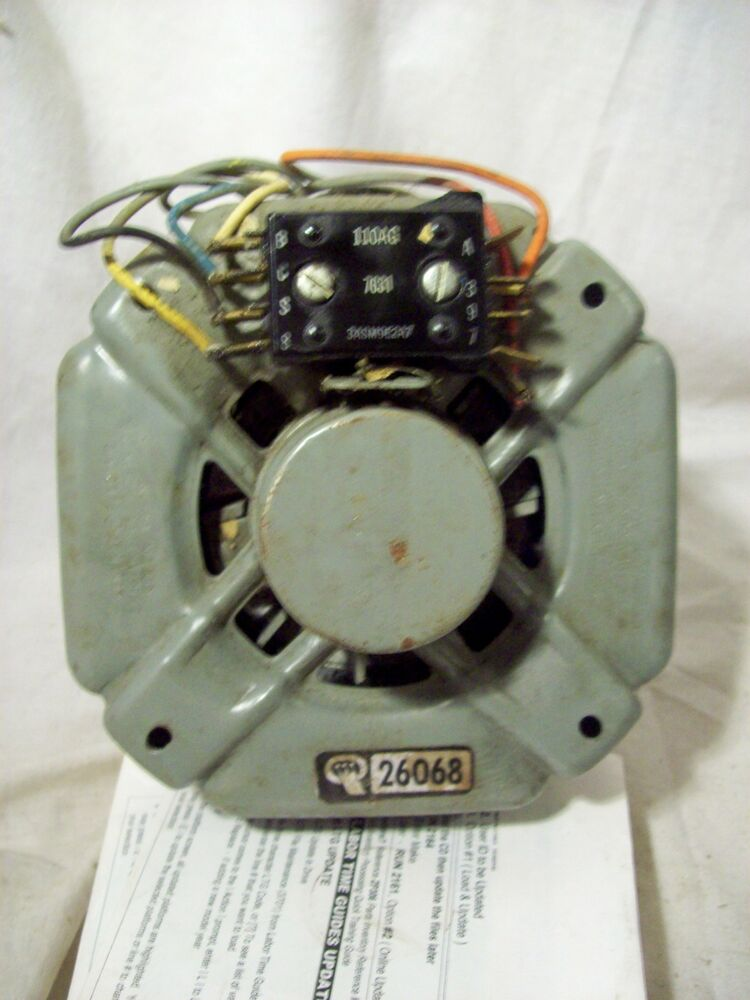 General electric motor speed queen automatic clothes for Speed queen dryer motor