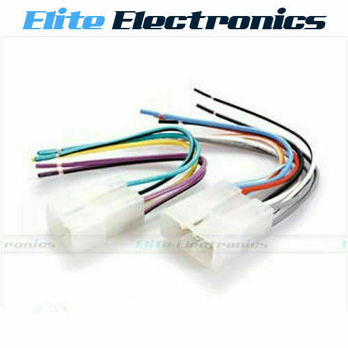 Wiring Harness Toyota Hilux : Wiring harness plug lead wire loom connector radio stereo