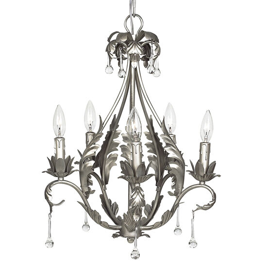 kids pewter chandelier light fixture 5