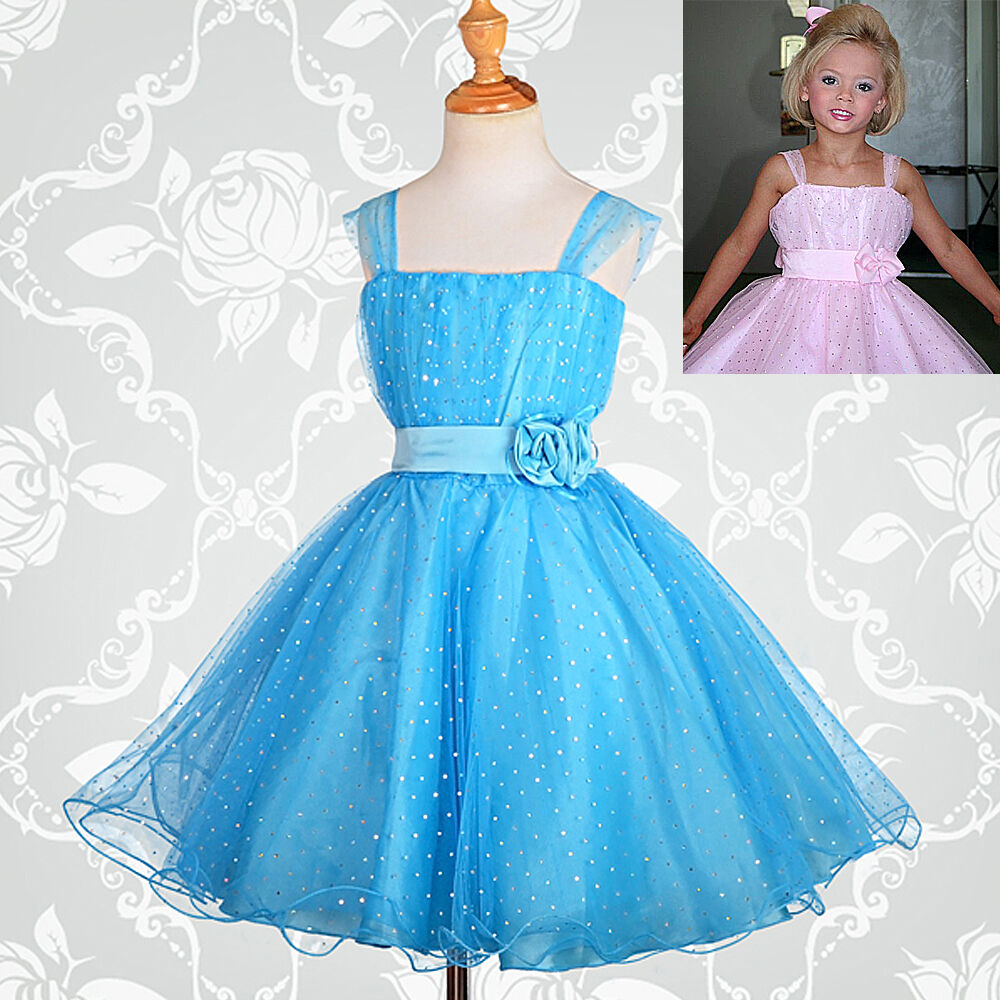 Flower Girl Dresses Wedding Bridesmaid Party Occasion Size 2-12 ...