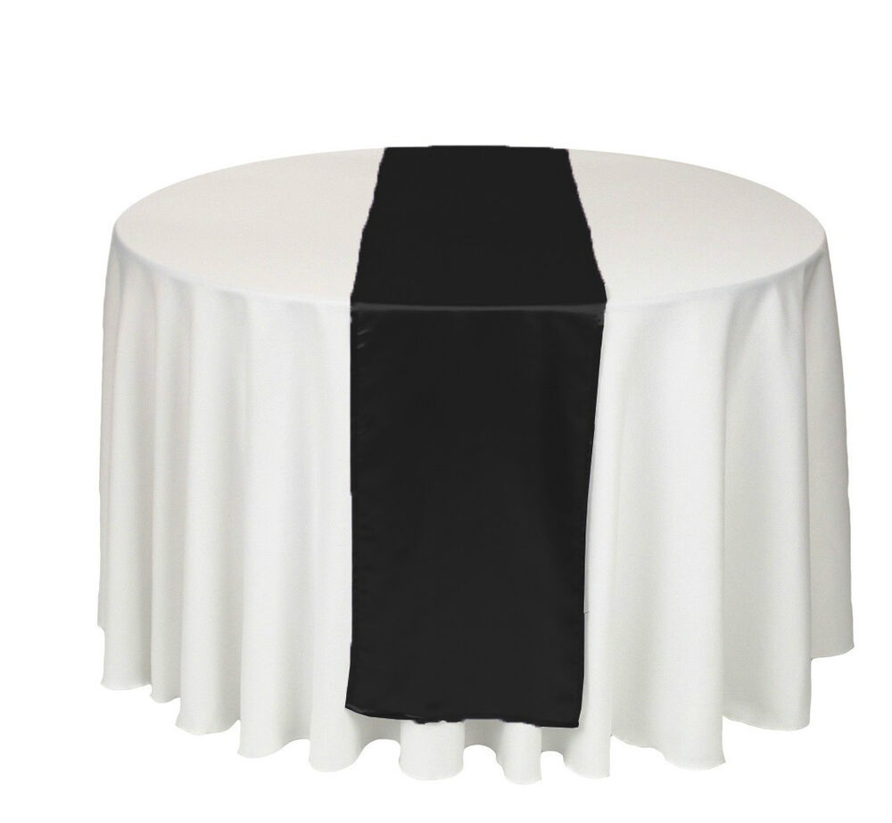 12 x 108 in satin table runner wedding brand new ebay for 108 table runner