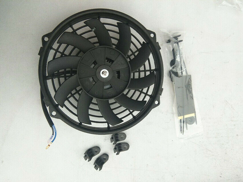 4 Inch 12 Volt Fan : Thermo fan quot inch volt v electric cooling mount
