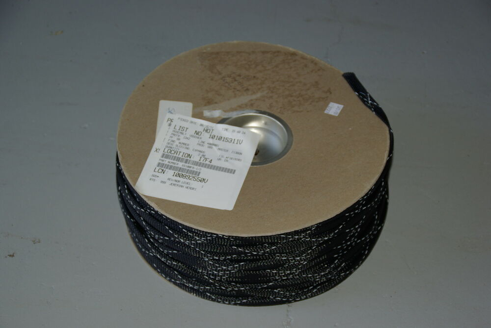 500 Spool Black 1 2 Quot Expando Pt Std Wire Harness Sleeving Ebay