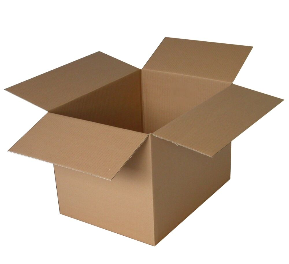cardboard boxes cartons single or x strong double wall ebay. Black Bedroom Furniture Sets. Home Design Ideas