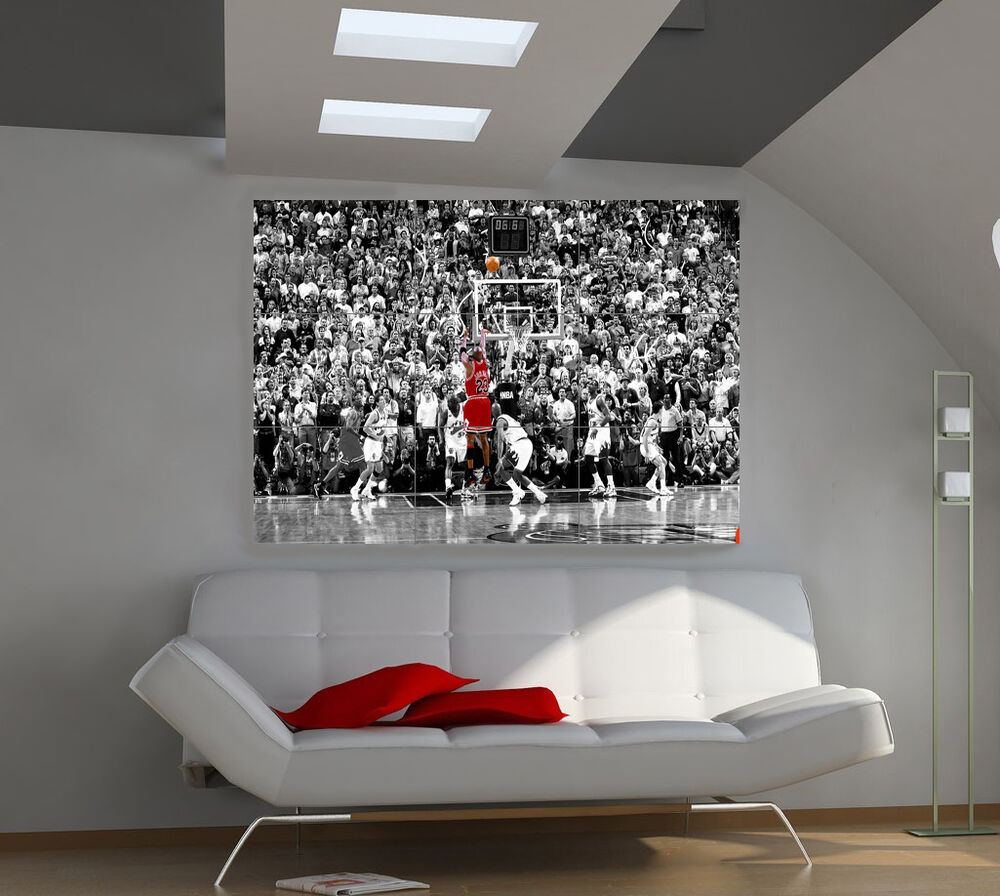 Michael Jordan Huge Art Giant Poster Wall Print 39 Part 45