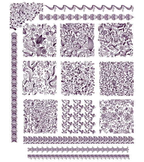 Abc designs seamless blocks machine embroidery designs set for Embroidery office design 7 5 full