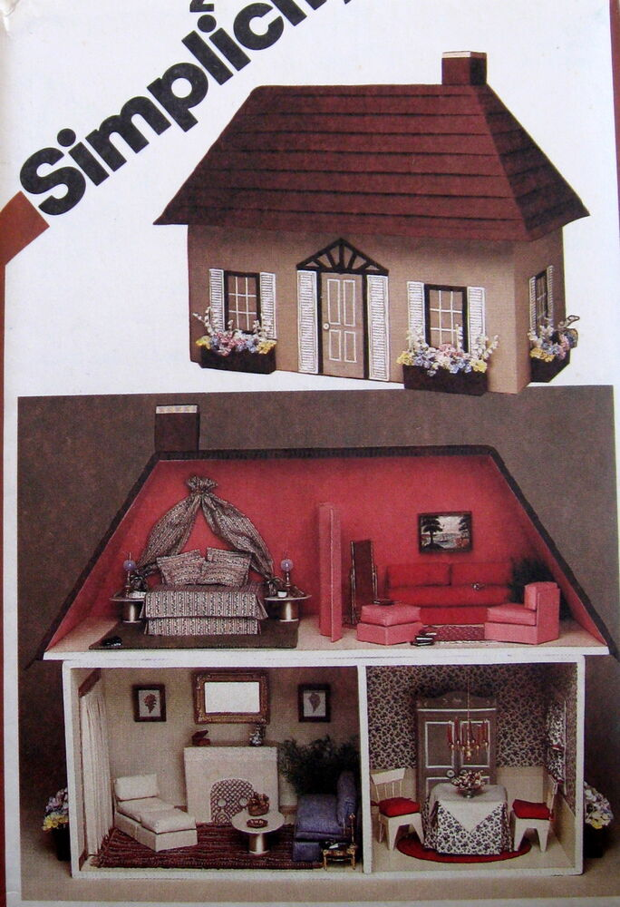 victorian doll house patterns  eBay