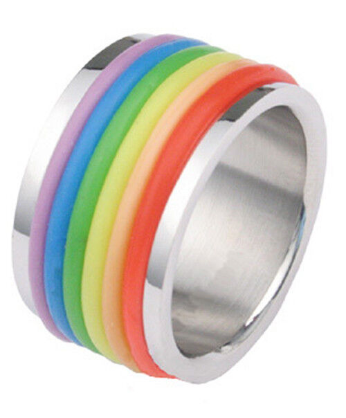 rainbow ring lgbt pride miniature - photo #21