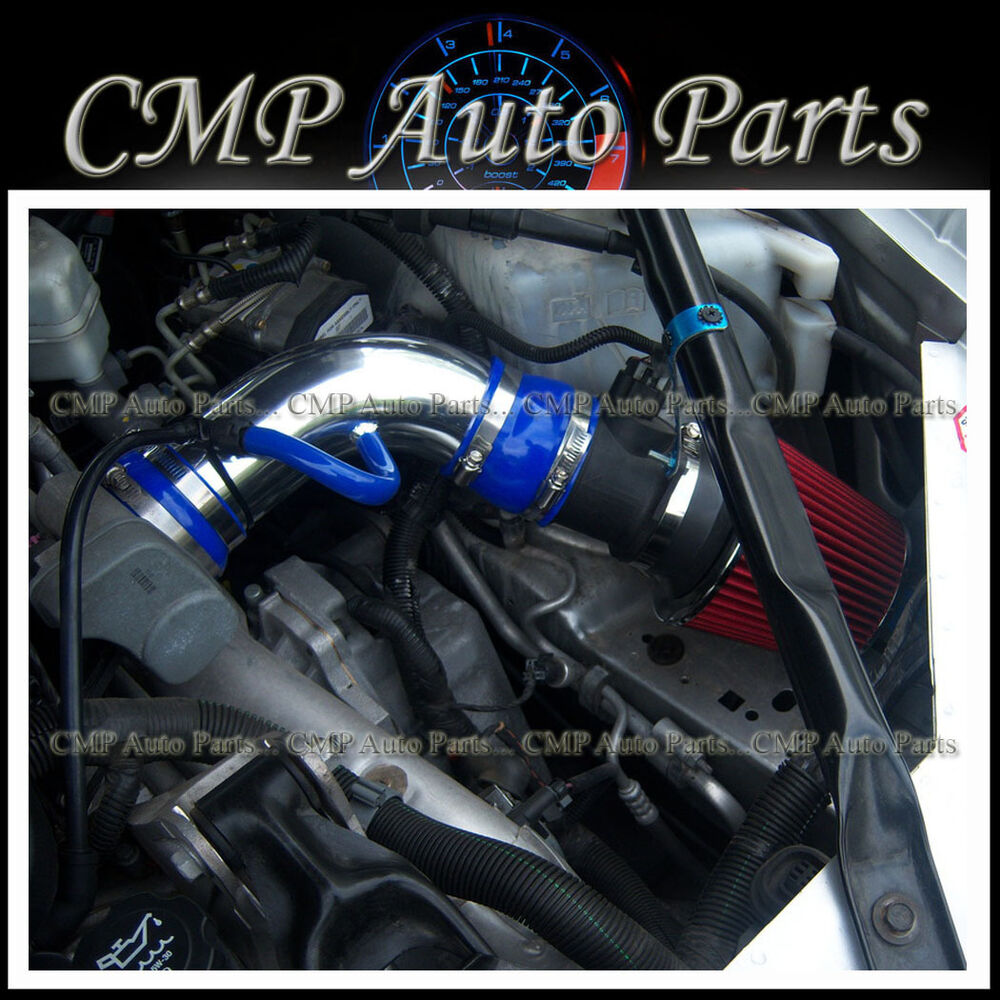 2005 2008 pontiac grand prix gxp 5 3 5 3l v8 air intake kit inducton systems ebay. Black Bedroom Furniture Sets. Home Design Ideas