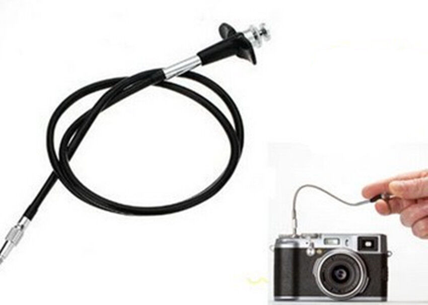 Mechanical Shutter Release Cable : Metal quot cm mechanical camera cable cord remote