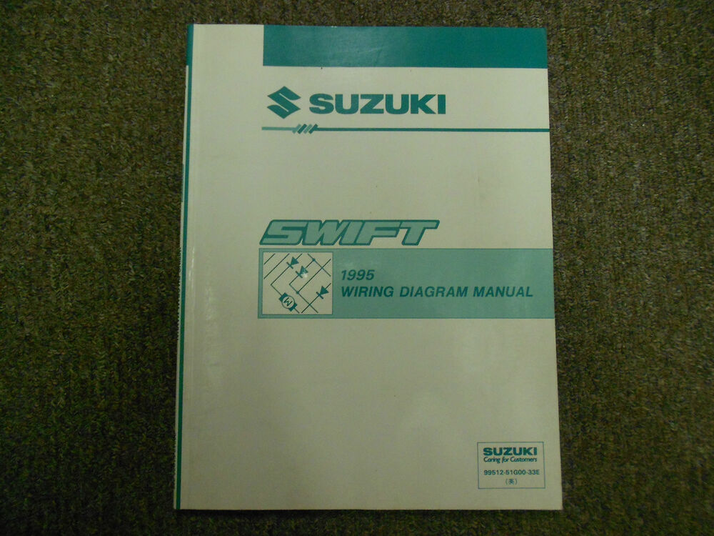 1995 Suzuki Swift Electrical Wiring Diagram Shop Manual Factory Oem Book 95