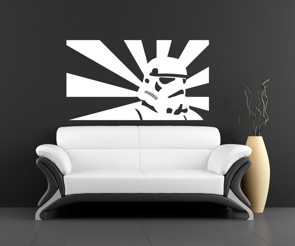 Star Wars Bedroom Accessories Uk Bedroom With Purple Accent Wall Bedroom Colours With Grey Neutral Bedroom Design Ideas: Wall Art Sticker Transfer Bedroom,lounge,storm Trooper