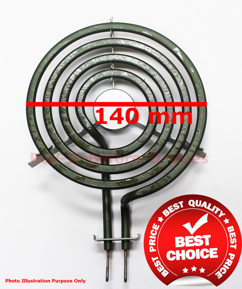 Electric Coil Stove ~ Electric stove coil heating element parts mm od plug