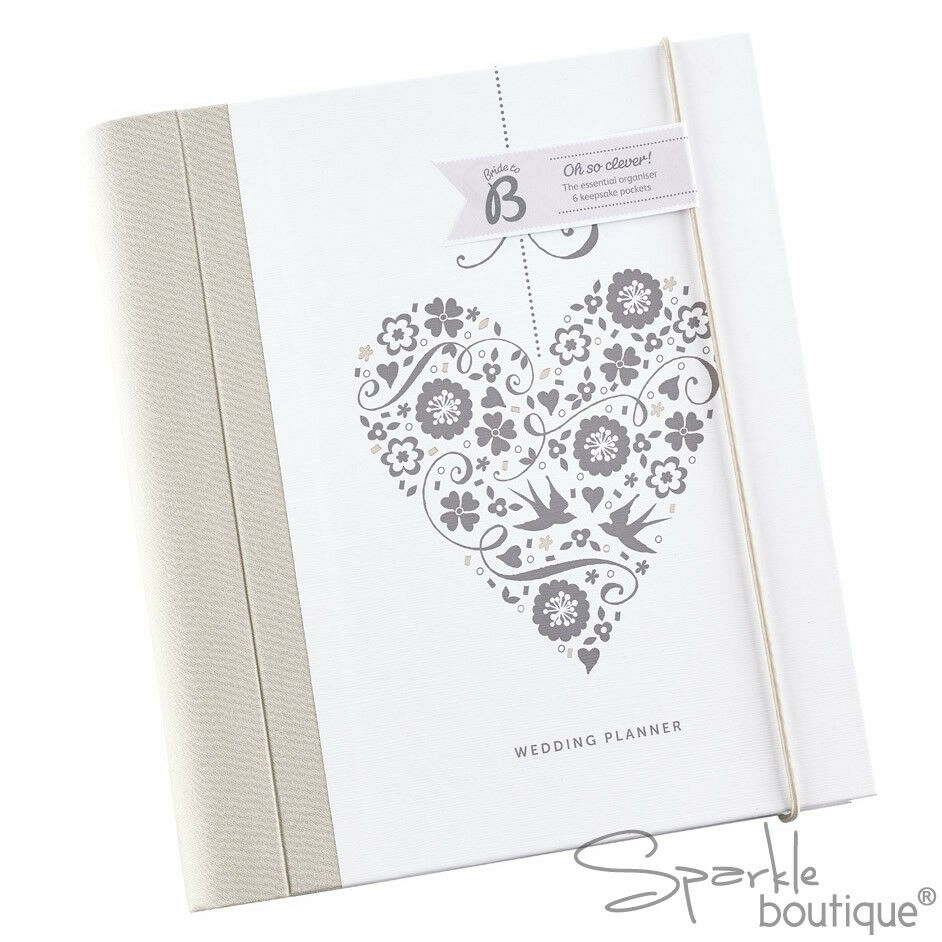 Wedding Planner Gifts: LUXURY WEDDING PLANNER BOOK / Journal / Organiser