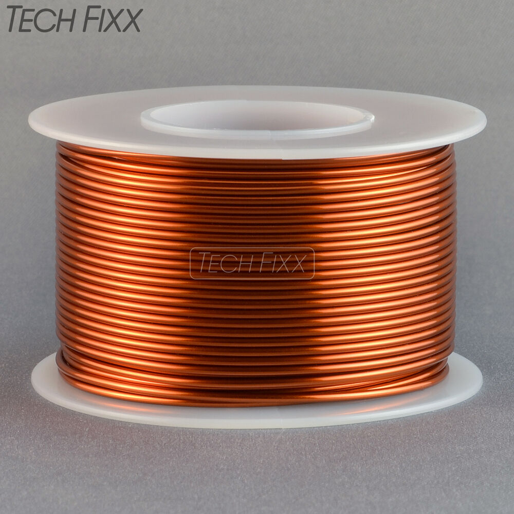 Magnet wire 18 gauge awg enameled copper 100 feet coil winding and magnet wire 18 gauge awg enameled copper 100 feet coil winding and crafts 200c ebay greentooth Image collections