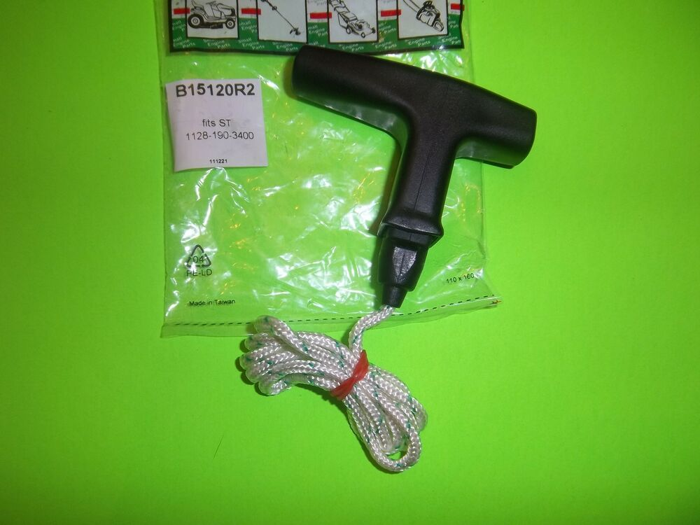how to fix stihl chainsaw pull cord