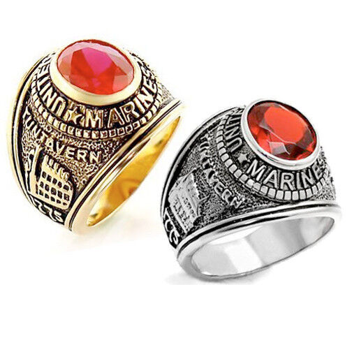 Us Army Class Rings: United States US Marine Corps Ring USMC Military Rings