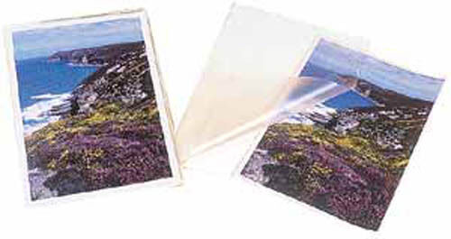 93965 A3 Glossy Laminating Pouches 125 Micron x 2, 25 Pack