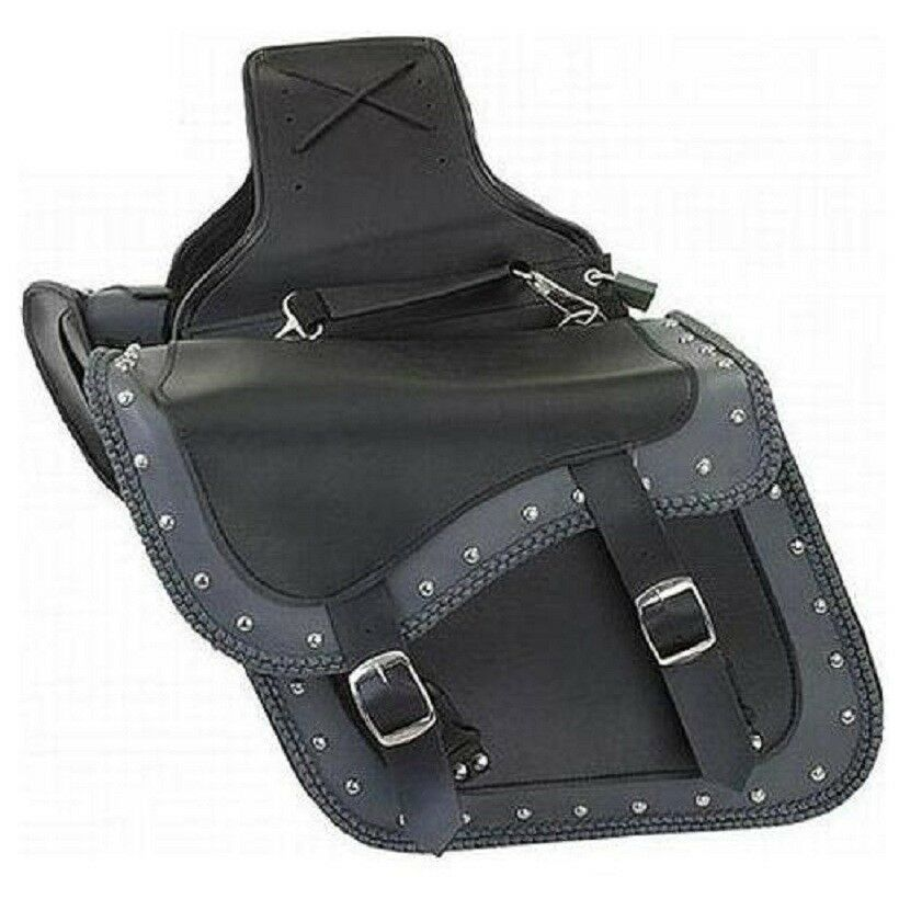 Yamaha vstar v max virago waterproof saddlebag zip off for Yamaha virago 1100 saddlebags
