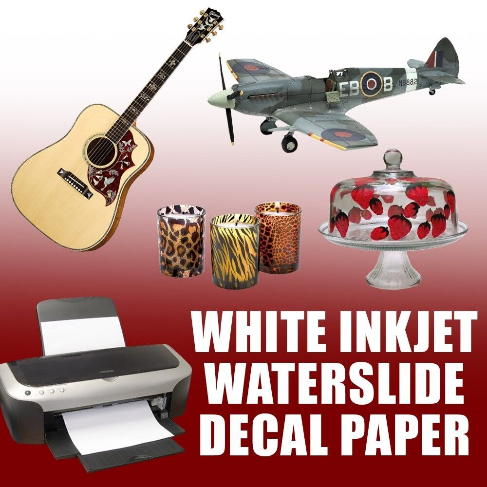 inkjet decal paper Where to find waterslide decal sheets locally where to find waterslide decal sheets locally hobby lobby has something they call image art waterslide transfer paper, but it sounds strange they describe it as for glass and mention that it produces beautiful sepia tone results once fired they also mention.