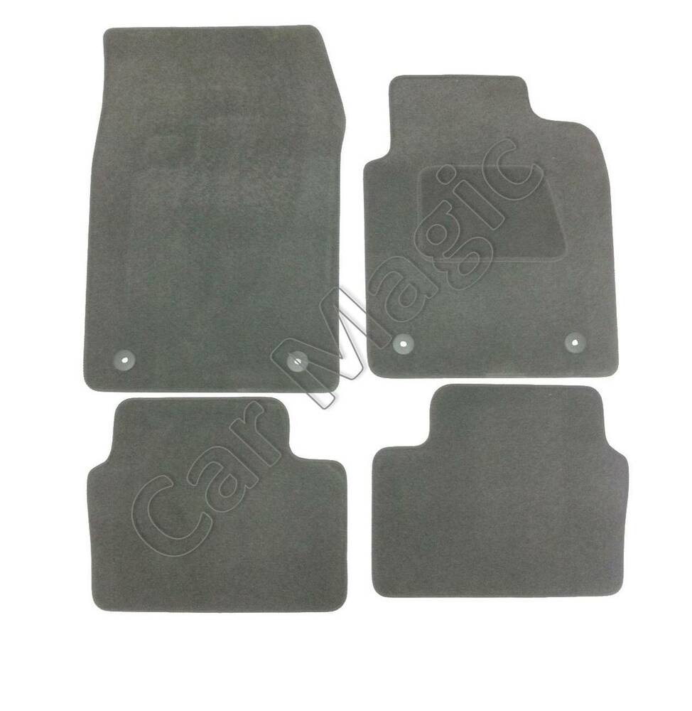 vauxhall vectra tailored car mats grey 2003 2008 ebay. Black Bedroom Furniture Sets. Home Design Ideas