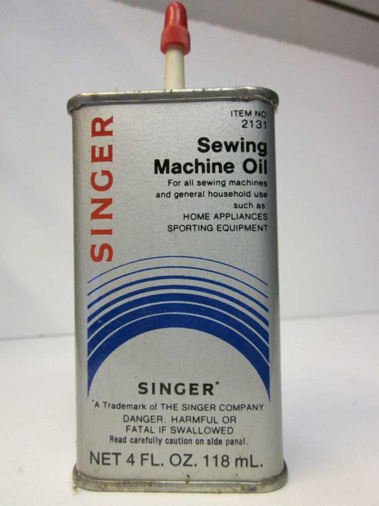 Singer Sewing Machine Oil- Item No. 2131- Made in USA | eBay
