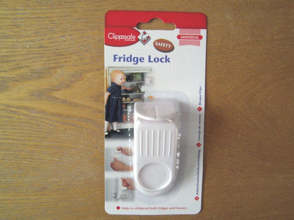 Clippasafe Children Baby Fridge Freezer Door Lock Kitchen