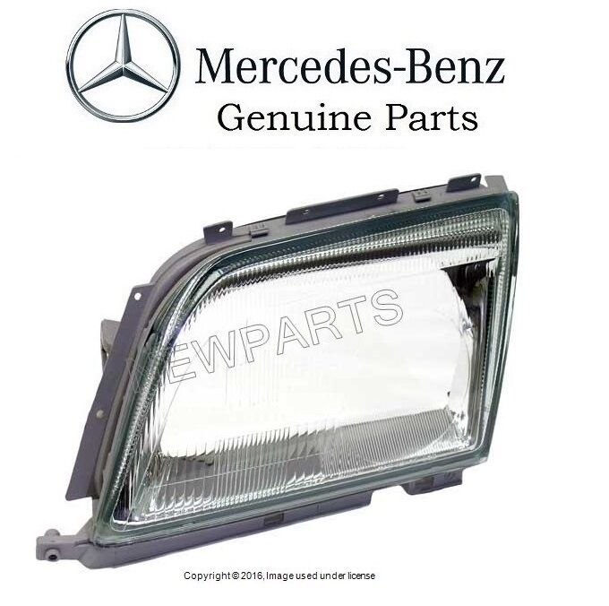 Mercedes benz 500sl 600sl sl320 sl500 genuine mercedes for Mercedes benz headlight lens