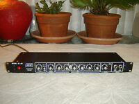 Ashly SC-40, Blackface, Instrument Preamp, Parametric Equalizer, Vintage Rack