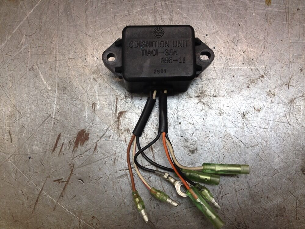 93 yamaha 25 hp single carb 2 stroke ignition cd box cdi for 25hp yamaha 2 stroke