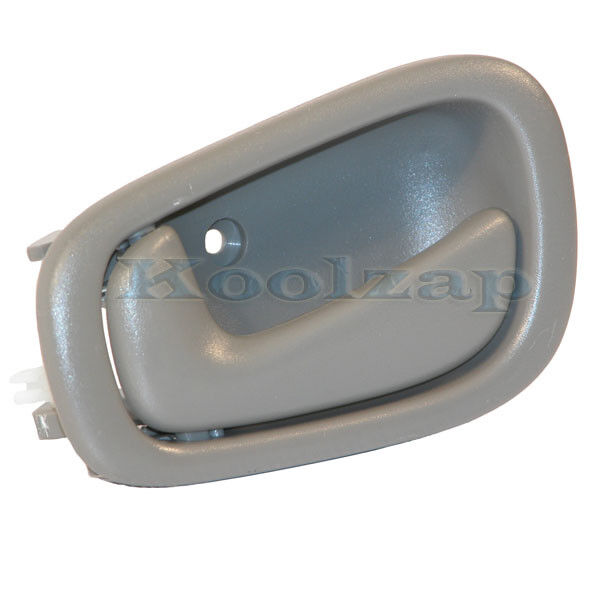 98 03 Corolla Prizm Gray Grey Inside Inner Interior Door Handle Left Driver Side Ebay