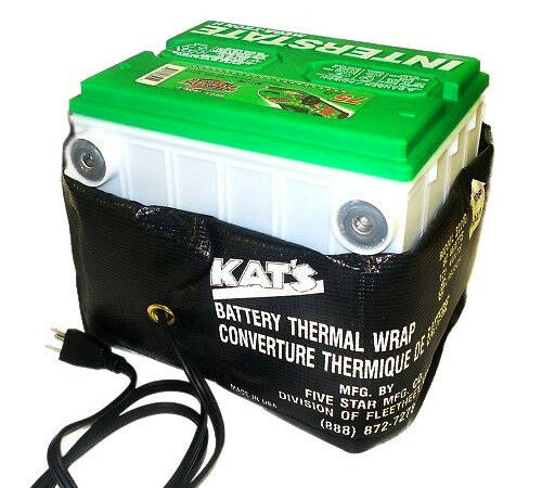 Battery Heater Battery Thermal Wrap Battery Saver 80 Watt