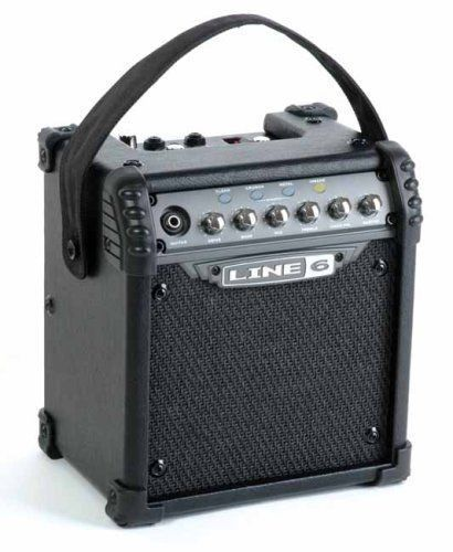 line 6 micro spider portable 6 watt battery powered guitar amp amplifier 614252004626 ebay. Black Bedroom Furniture Sets. Home Design Ideas