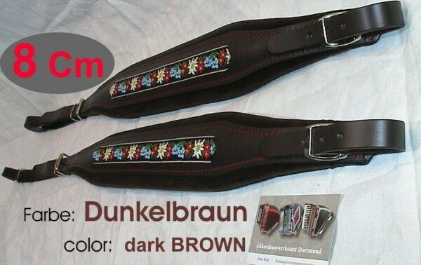 8 cm Akkordeongurte, Riemen,acordeon, bretelles accordeon, Folk Accordion Straps