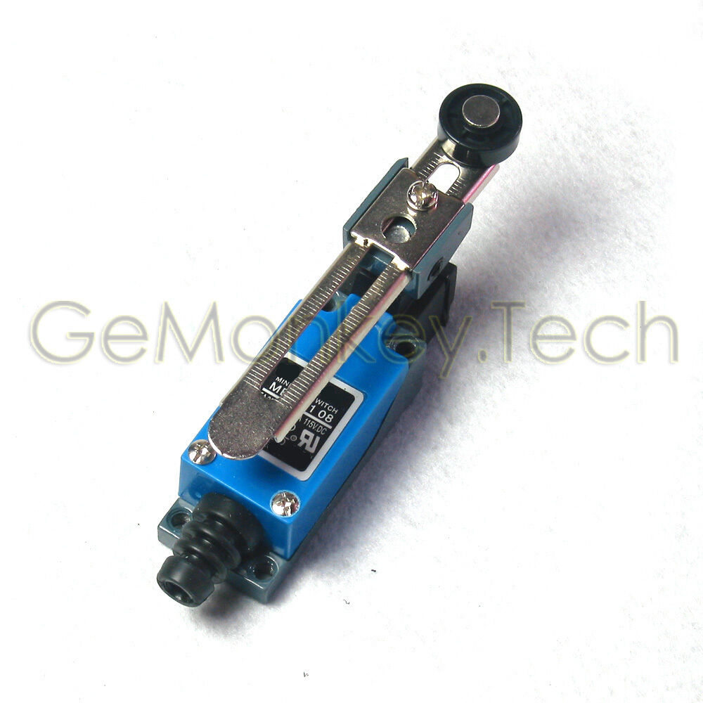 Limit Switch Lever Arm : Me momentary rotary adjustable roller lever limit
